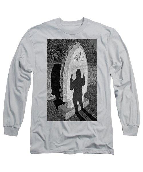 Monumental Shadows Peace Out Long Sleeve T-Shirt