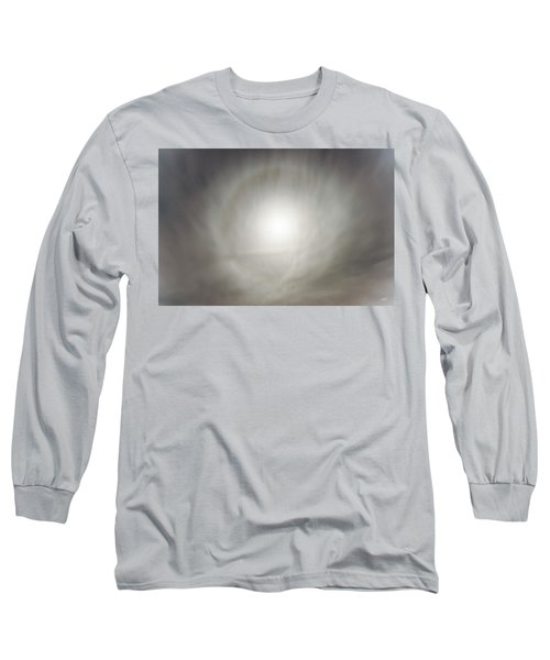 Long Sleeve T-Shirt featuring the photograph Moon Dog by Leland D Howard