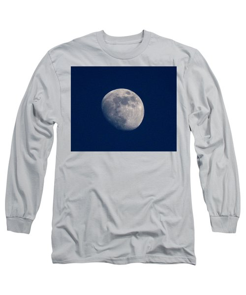Moon From Bow, Wa Long Sleeve T-Shirt by Karen Molenaar Terrell