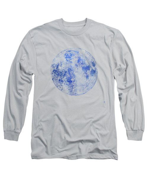 Moon Map Long Sleeve T-Shirt