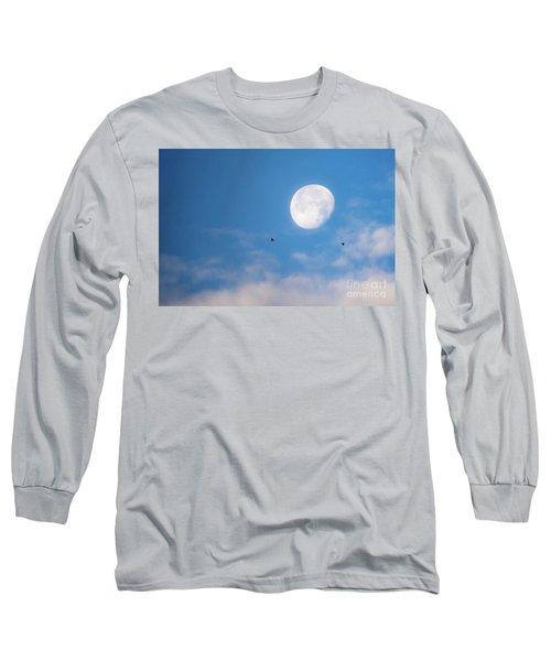 Moon Set Long Sleeve T-Shirt