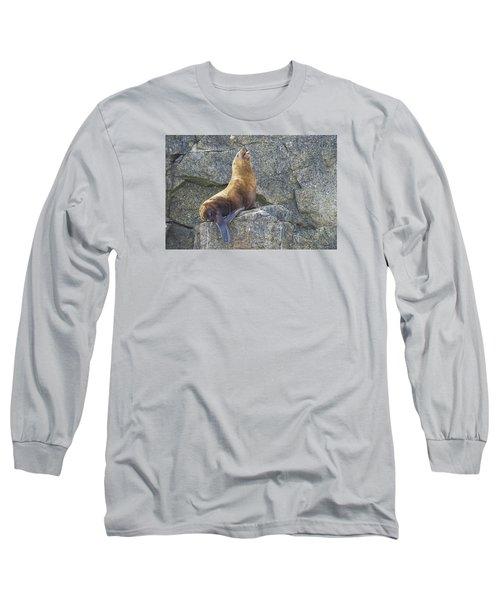 More Complaining Long Sleeve T-Shirt by Harold Piskiel