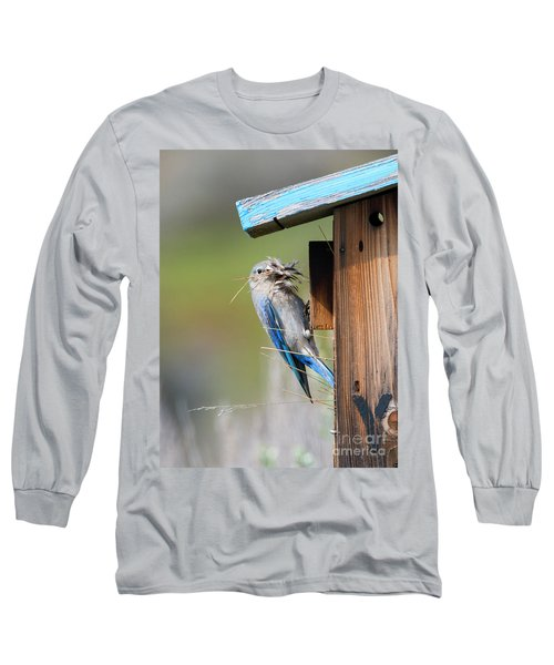 Long Sleeve T-Shirt featuring the photograph More Than Mouthful by Mike Dawson