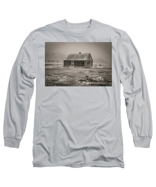 Mormon Row Grand Teton National Park  Long Sleeve T-Shirt