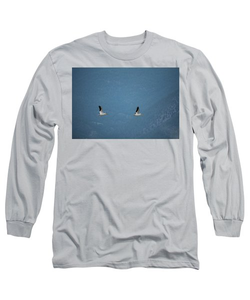 Morning Flight Long Sleeve T-Shirt by Brian Duram
