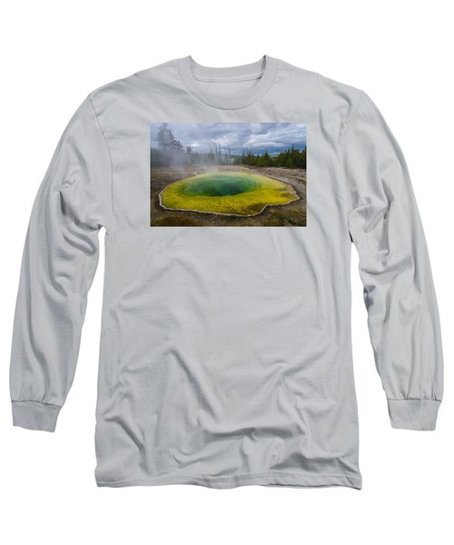 Morning Glory Pool Long Sleeve T-Shirt