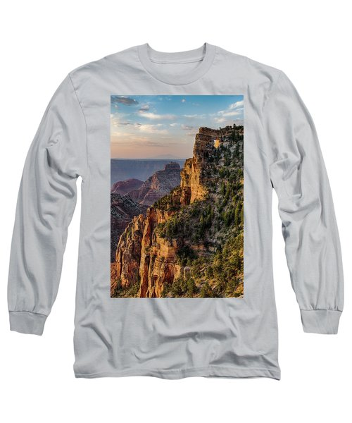Morning Glow On Angels Window Long Sleeve T-Shirt