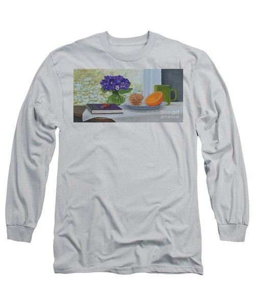 Morning Journal Long Sleeve T-Shirt