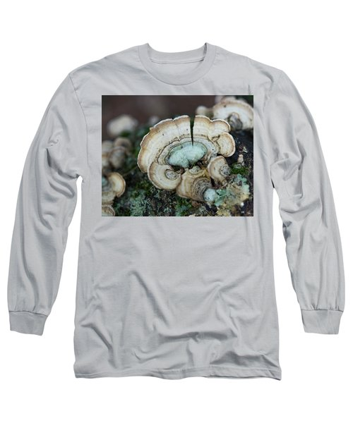 Morning Mushroom Long Sleeve T-Shirt