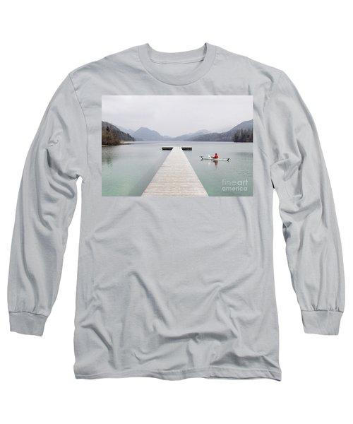 Morning Patrol Long Sleeve T-Shirt by JR Photography