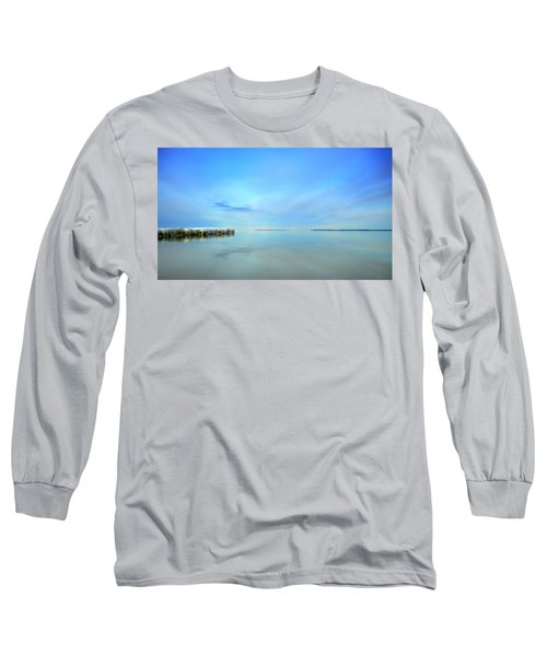 Morning Sky Reflections Long Sleeve T-Shirt