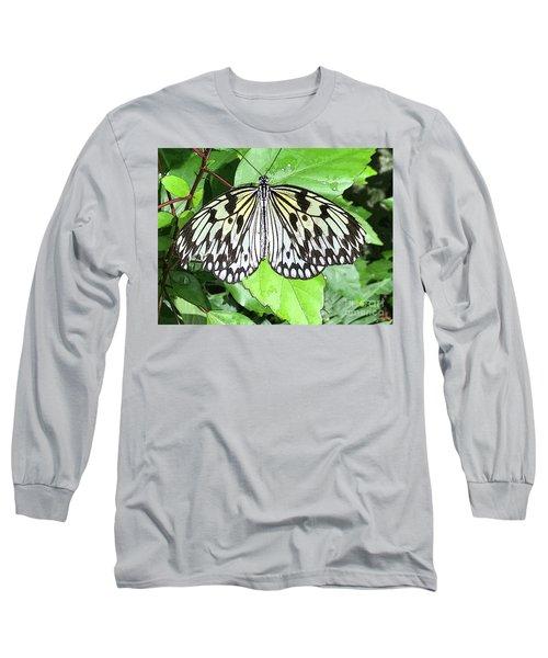 Mosaic Wing Spread Long Sleeve T-Shirt