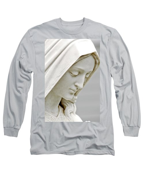 Mother Mary Comes To Me... Long Sleeve T-Shirt by Greg Fortier
