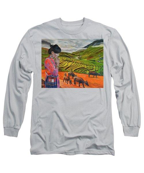 Mother's Land Long Sleeve T-Shirt