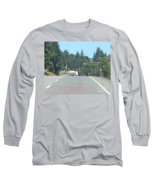 Long Sleeve T-Shirt featuring the photograph Motorcycle Club Aka Four by Marie Neder