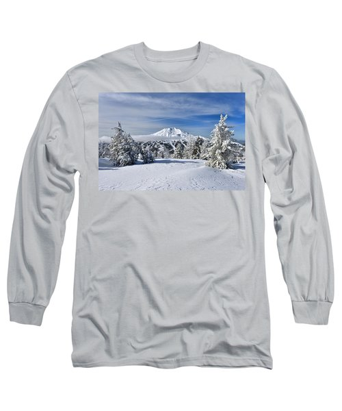 Mount Bachelor Winter Long Sleeve T-Shirt