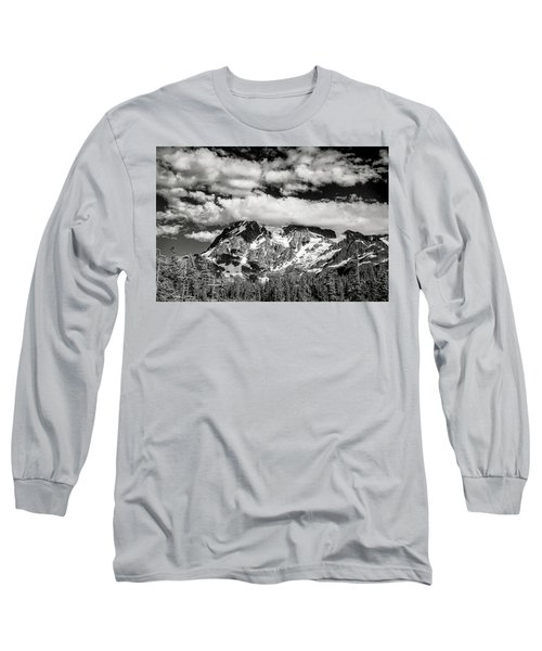 Long Sleeve T-Shirt featuring the photograph Mount Shuksan Under Clouds by Jon Glaser