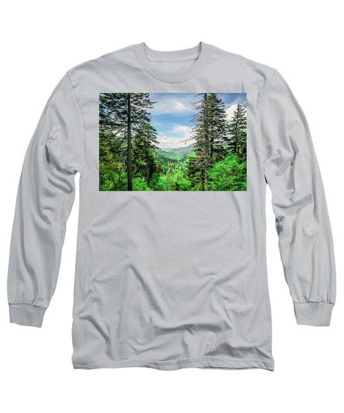 Mountain Forest Long Sleeve T-Shirt