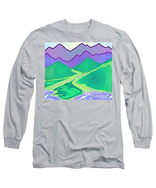 Mountain Murmurs Long Sleeve T-Shirt
