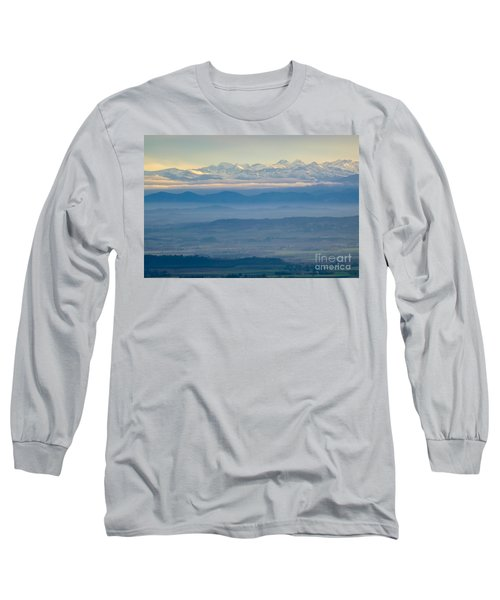 Mountain Scenery 11 Long Sleeve T-Shirt by Jean Bernard Roussilhe