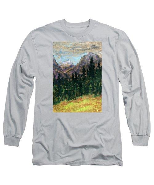 Mountain Vista Long Sleeve T-Shirt by R Kyllo