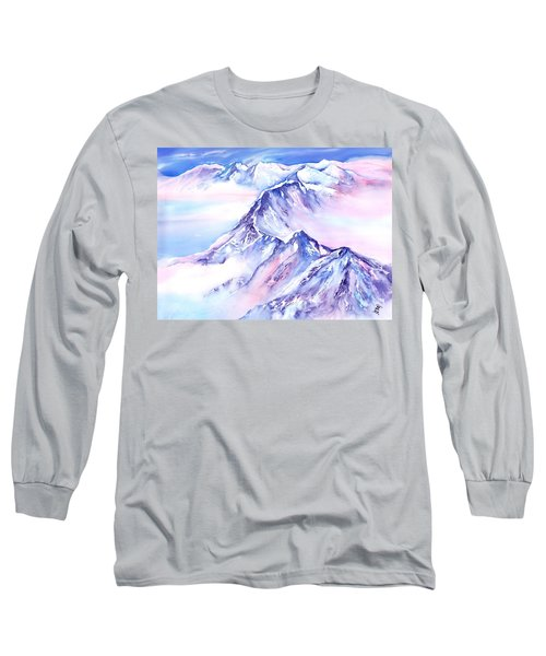Mountains - Above The Clouds No. 1 Long Sleeve T-Shirt
