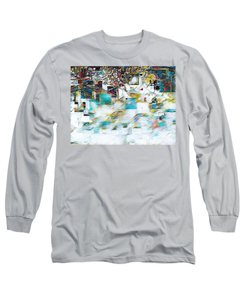 Snowy Mountains Long Sleeve T-Shirt