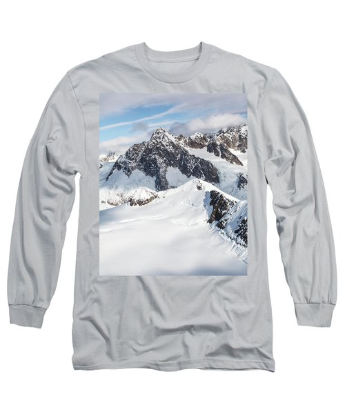 Mountains Of Southeast Alaska Long Sleeve T-Shirt