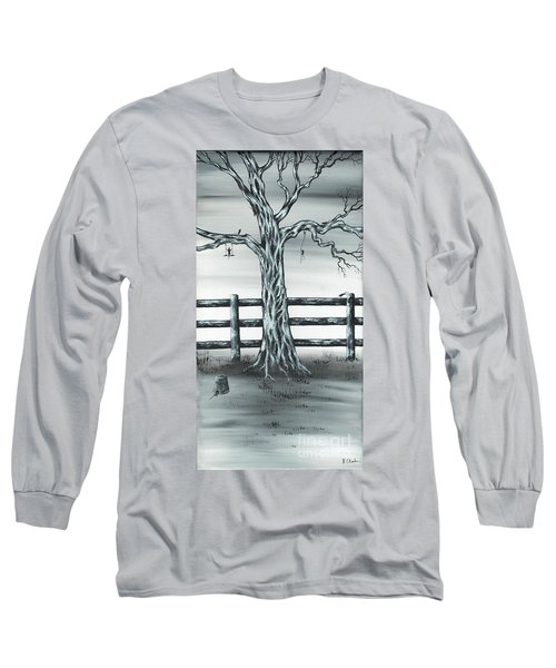 Long Sleeve T-Shirt featuring the painting Mouse House by Kenneth Clarke
