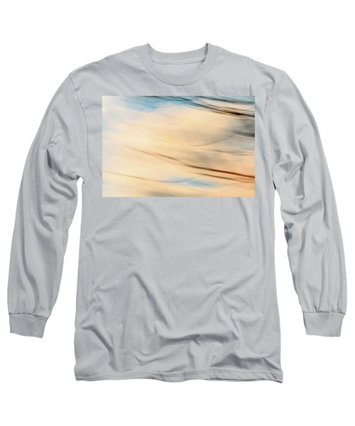 Moving Branches Moving Clouds Long Sleeve T-Shirt