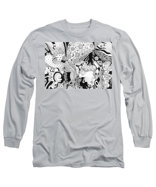 Moving In Circles - The Other Way Around Long Sleeve T-Shirt