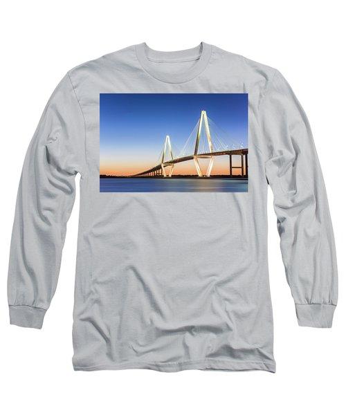 Moving Yet Still Long Sleeve T-Shirt by Jon Glaser