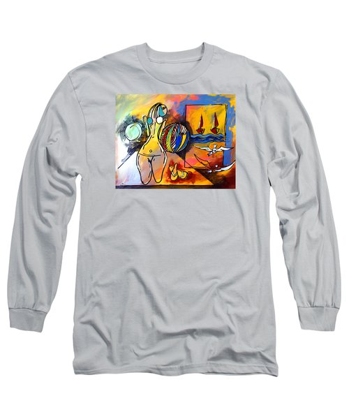 Mr Ameeba 6 Long Sleeve T-Shirt
