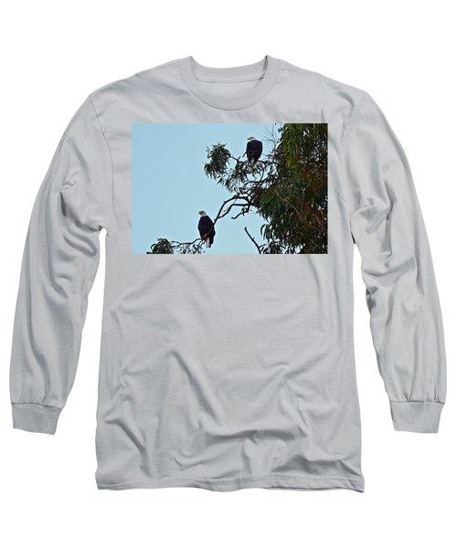 Mr. And Mrs. Bald Long Sleeve T-Shirt