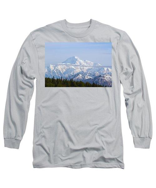 Denali Cloud Line Long Sleeve T-Shirt by Allan Levin