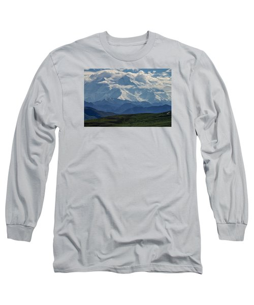 Long Sleeve T-Shirt featuring the photograph Denali by Gary Lengyel