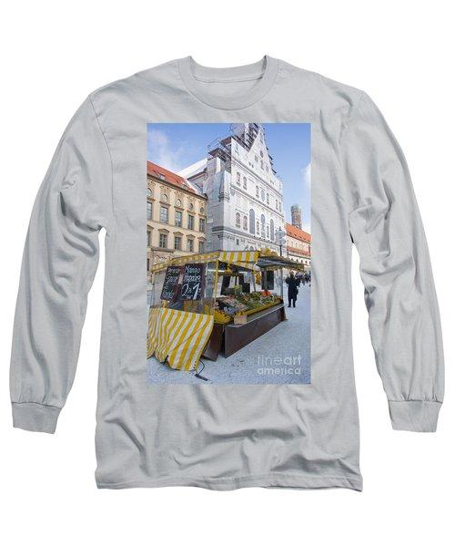 Munich Fruit Seller Long Sleeve T-Shirt