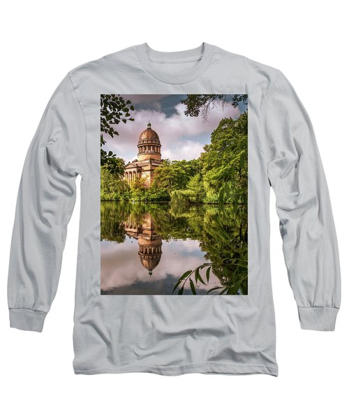 Museum At The Zoo Long Sleeve T-Shirt by Martina Thompson