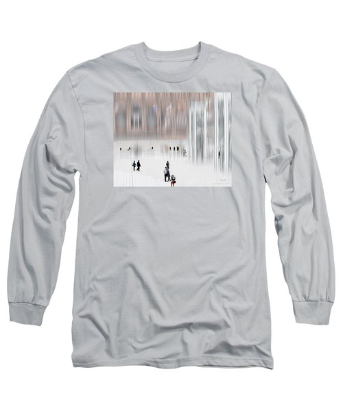 Museum Of Nothing Long Sleeve T-Shirt by Pedro L Gili