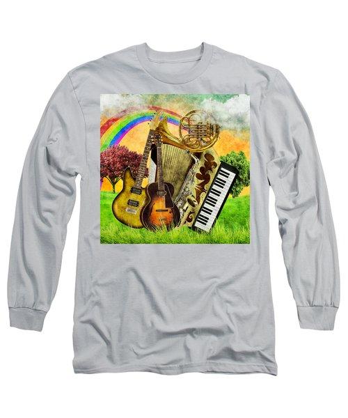 Musical Wonderland Long Sleeve T-Shirt