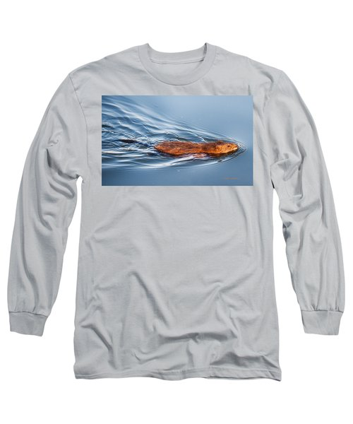 Muskrat Speed Swiming Long Sleeve T-Shirt