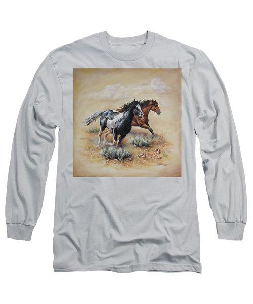 Mustang Glory Long Sleeve T-Shirt
