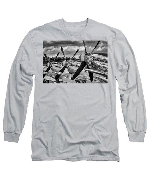 Mustang Row Long Sleeve T-Shirt
