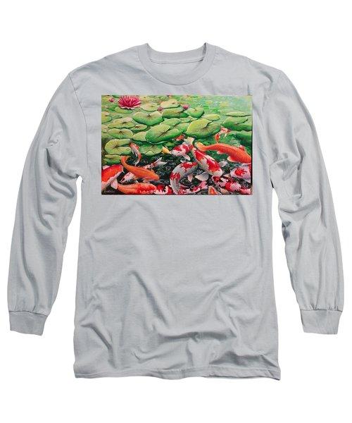 My Backyard Pond Long Sleeve T-Shirt