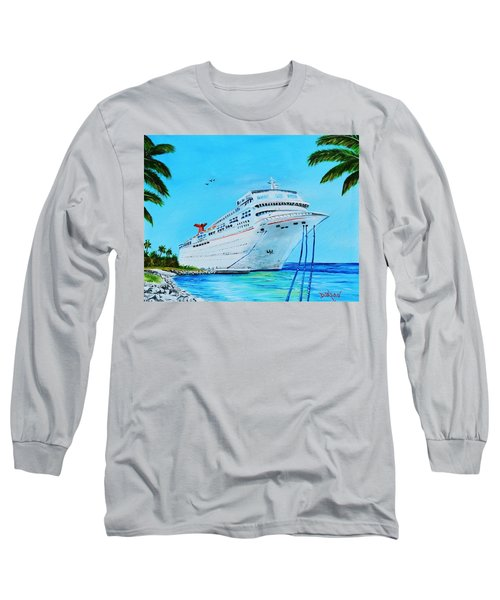 My Carnival Cruise Long Sleeve T-Shirt by Lloyd Dobson