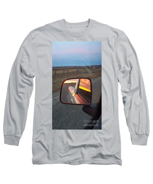 My Rear View Mirror Long Sleeve T-Shirt