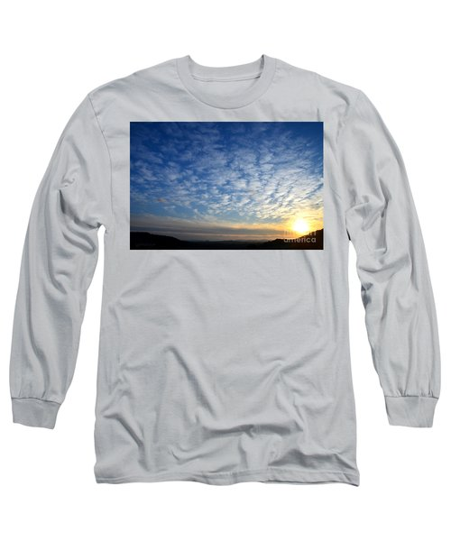 A Lonely Place To Pray Long Sleeve T-Shirt by Sharon Soberon