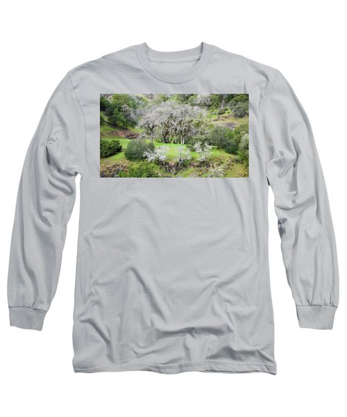 Mysterious Landscape In Sonoma County Long Sleeve T-Shirt