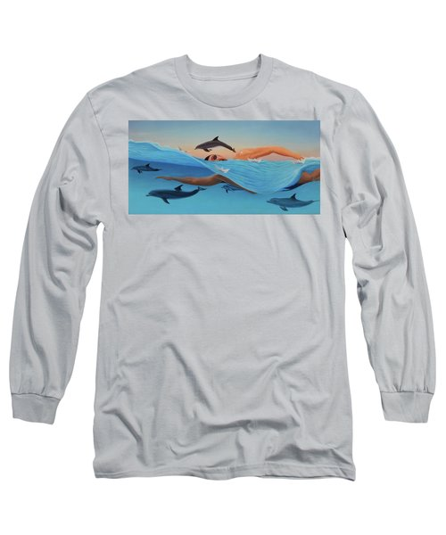 Nadando Contra Corriente Long Sleeve T-Shirt