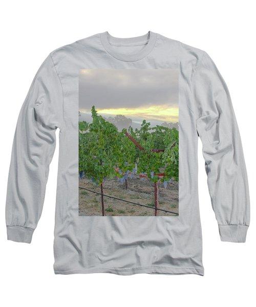 Napa Valley At Dawn Long Sleeve T-Shirt